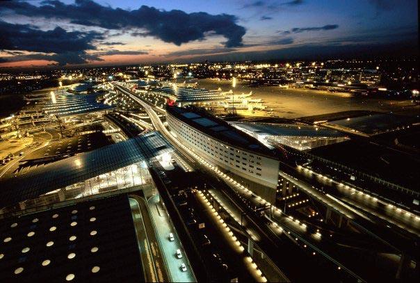 Photographie aéroport Roissy Charles de Gaulle 95