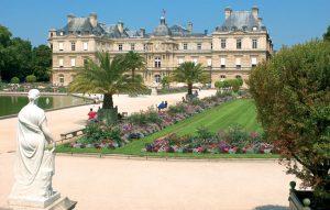 Photographie jardin du Luxembourg Paris 6