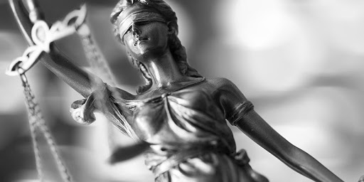 photographie illustrant la justice
