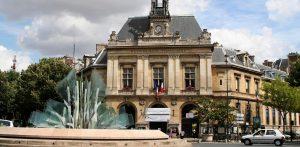 Phototgraphie mairie Paris 20 ème